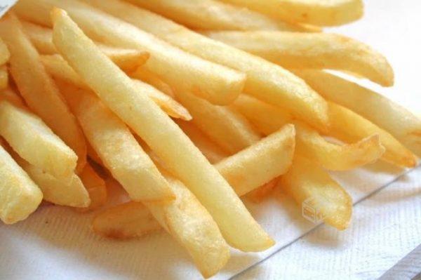 papas fritas congeladas