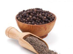 pimienta negra machacada